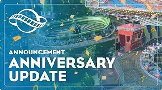 Planet Coaster's 1.4 Anniversary Update Available 22 November!