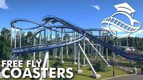 Planet Coaster College - Free Fly Free Swing Coaster Tutorial