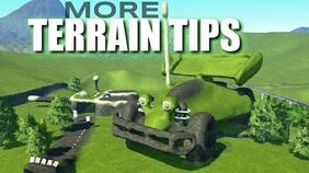 Planet Coaster R.C. Build MORE Terrain Tips W Flatten to Surface VS