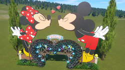 Planet Coaster - Mickey and Minnie Mouse Archway by Doh 265