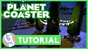 Pathing Tips & Tricks Planet Coaster Tutorial