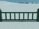 Low Metal Fence 2m