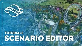 Planet Coaster Tutorial - Scenario Editor