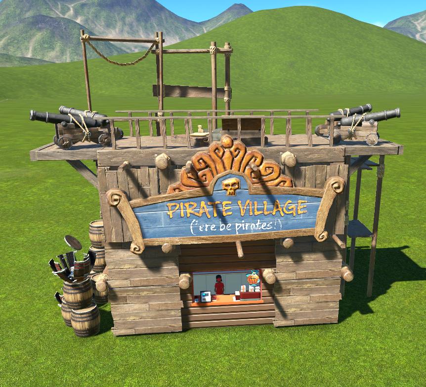 Pirate Shop - Small | Planet Coaster Wiki | FANDOM powered by Wikia