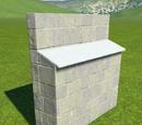 Castle Wall Buttress