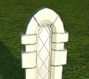 Castle Window - Leaded Narrow