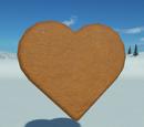 Gingerbread Cutout - Heart