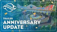 Anniversary Update Trailer - Planet Coaster