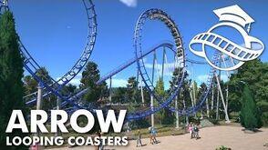 Planet Coaster College - Arrow Looping Coaster Tutorial