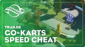 Planet Coaster Cheats - User Controllable Go-Karts Speed Increase