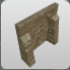 Sandstone Wall Buttressed Alcove icon