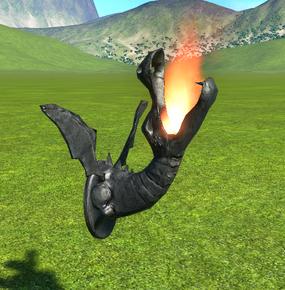 Dragon Lamp lit - Planet Coaster