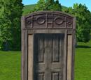 Wooden Door Rectangular