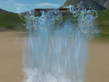 Special Effect - Waterfall Pouring Huge