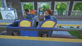 Hop The Gaps - Planet Coaster