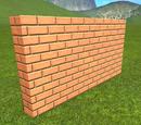 Brick Wall 2m