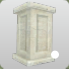 Stucco Square Pillar 3 Base Icon