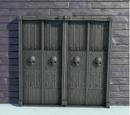 Gothic Castle Door Animatronic