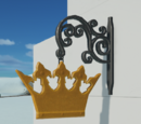 Fairytale Sign - Projecting Sign Crown