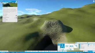 Planet Coaster Tutorial - Terrain Editor