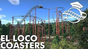 Planet Coaster College - El Loco Coaster Tutorial