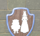 Fairytale Restroom Sign