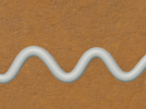 Gingerbread Icing - Zigzag 4m Line