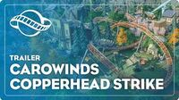 Planet Coaster Carowinds Copperhead Strike Coaster