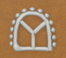 Gingerbread Icing - Window 1