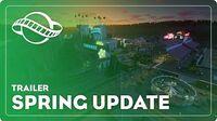 Spring Update Trailer - Planet Coaster