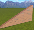 Classic Brick Wall 2m Slope