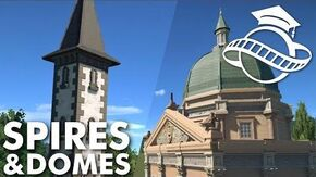 Planet Coaster College - Spires & Domes