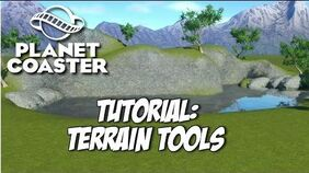 Planet Coaster Tutorial Terrain Tools