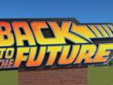 Back to the Future Sign