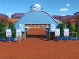 Large Planet Coaster Entrance