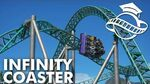 Planet Coaster College - Infinity Coaster Tutorial (Classic Rides Collection)