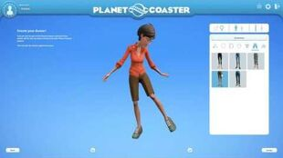 Planet Coaster GamesCom 2016 - Front-End Flow