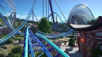 Cascade - Planet Coaster