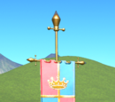 Kingdom Banner Pole