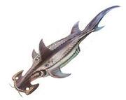 Acanthondii flatmouth-Shark Concept Art1