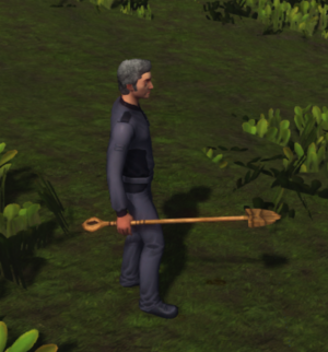 Wood Shovel