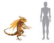 Gold Dragon Concept Art1
