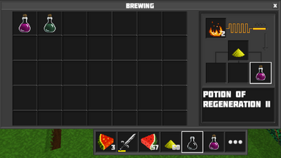 Potion of regeneration II