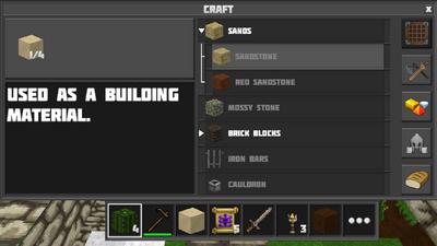 Crafting sandstone2