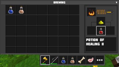 Brewing potion of healing II