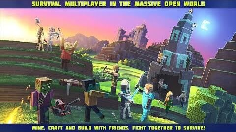 Planet of Cubes Survival Games Trailer 4