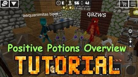 Potions with Positive Effects Overview