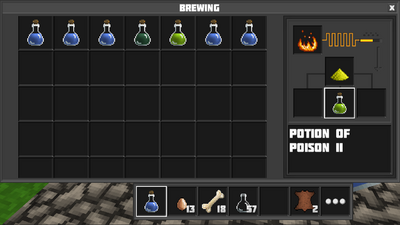 Brewing potion of poison II