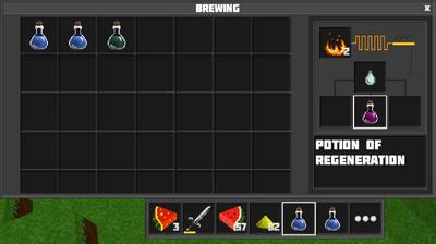 Potion of regeneration br