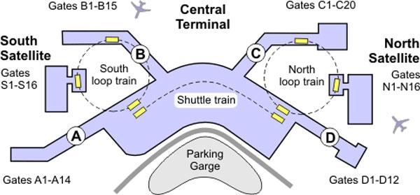 Image - Seattle-airport-terminal-map.jpg | Planet 51 Wiki | FANDOM ...